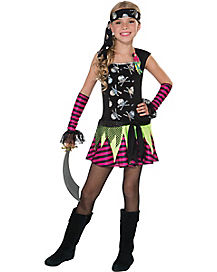 Kids Punky Pirate Costume
