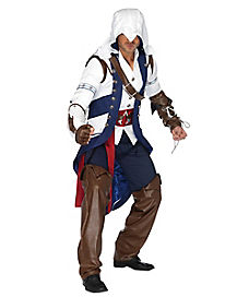 Theatrical Assassins Creed Connor Mens Costume
