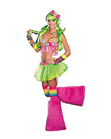 Dazed Daisy Adult Womens Costume