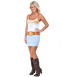 Toy Story Jessie Tank Dress Adult Womens Costume