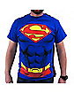 Superman Cape Adult Mens T-Shirt