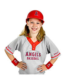 MLB Los Angeles Angels Uniform Set