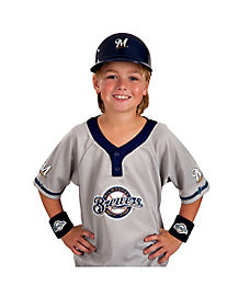 MLB Milwaukee Brewers Uniform Set