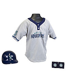 MLB Seattle Mariners Uniform Set