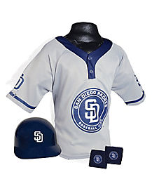 MLB San Diego Padres Uniform Set