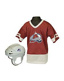 NHL Colorado Avalanche Uniform Set