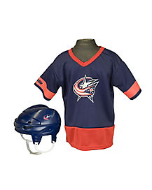 NHL Columbus Blue Jackets Uniform Set