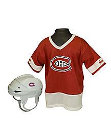 NHL Montreal Canadiens Uniform Set