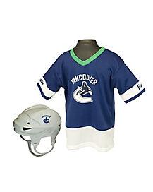 NHL Vancouver Canucks Uniform Set