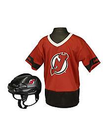 NHL New Jersey Devils Uniform Set