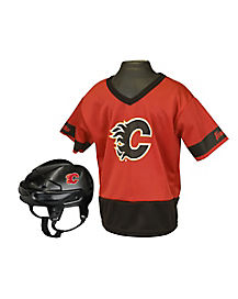 NHL Calgary Flames Uniform Set