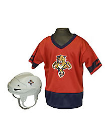 NHL Florida Panthers Uniform Set