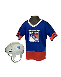 NHL New York Rangers Uniform Set