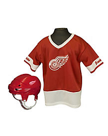 NHL Detroit Red Wings Uniform Set