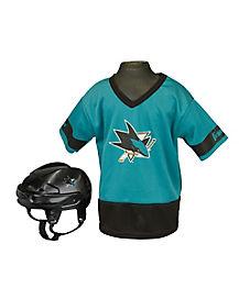NHL San Jose Sharks Uniform Set