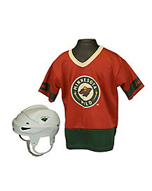 NHL Minnesota Wild Uniform Set