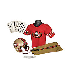 NFL San Francisco 49ers Uniform Set