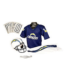 NFL San Diego Chargers Uniform Set