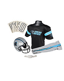 NFL Carolina Panthers Uniform Set