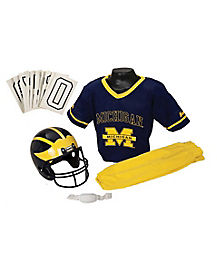 Michigan Wolverines Uniform Set