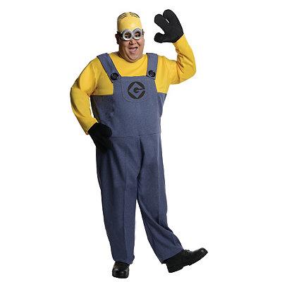 Despicable Me Dave Minion Adult Plus Size Costume