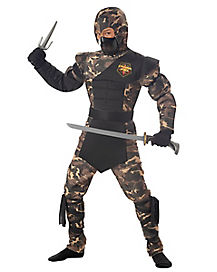 Special Operations Ninja Child Plus Size Costume