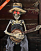 2 ft Banjo Playing Skeleton - Decorations