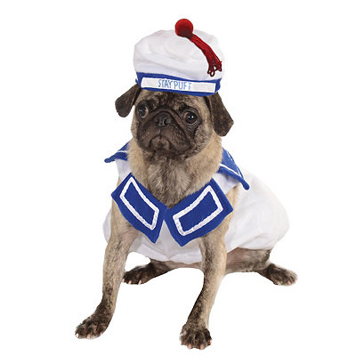 Stay Puft Marshmallow Dog Costume - Ghostbusters