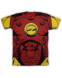 Costume Iron Man Marvel T shirt