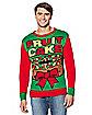 Adult Fruit Cake Christmas Sweater
