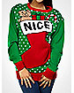 Nice Stocking Adult Sweater
