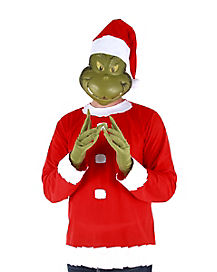 Adult Santa Grinch Costume - Dr Seuss