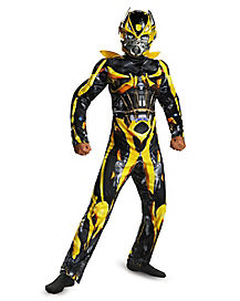 Kids Muscle Bumblebee Costume - Transformers