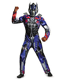 Kids Muscle Optimus Prime Costume - Transformers