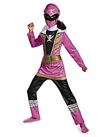 Kids Pink Ranger Costume - Power Rangers Super Megaforce