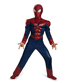 Kids Muscle Spiderman 2 Costume - Marvel Comics