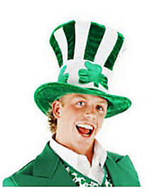 Shamrock Uncle Sam Hat