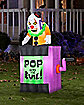 4.5 ft Animated Jack-In-The-Box Inflatable - Decorations