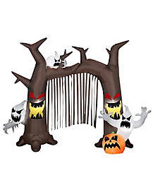 9 Ft Ghostly Tree Archway Inflatable - Decorations