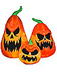 Scary Jack-O-Lantern Trio Airblown Inflatable