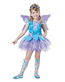 Kids Lilac Fairy Tutu Costume