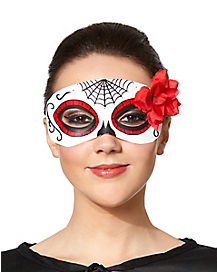 Flower Senorita Day of the Dead Mask