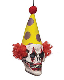 Hanging Clown Head - Decorations