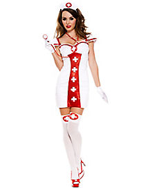 Bedside Beauty Nurse Womens Costume