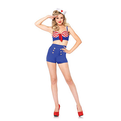 Deck Darling Womens Adult Costume