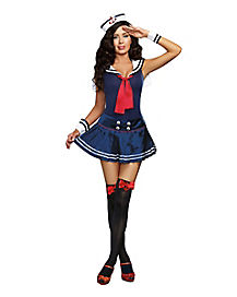 Adult Ship Shape Romper Costume