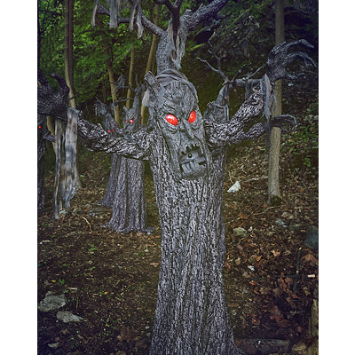 Haunted Animated Tree