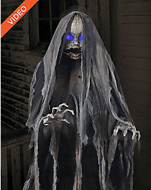 5 Ft Creepy Rising Doll Animatronics - Decorations