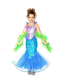 Mermaid Girls Costume