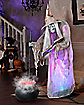 Ghostly Witch of Fire and Ice Animated Decoration